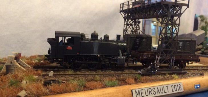 Fête du train à Meursault, édition 2016