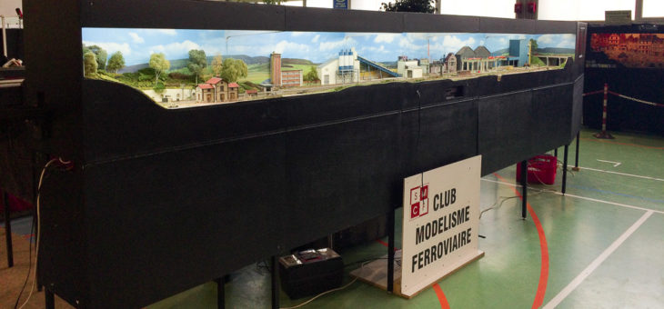 Train miniature exposition Dieppe 2017