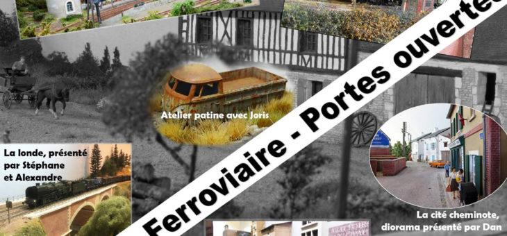 Dimanche 12 novembre, exposition de modélisme ferroviaire à proximité d'Evreux