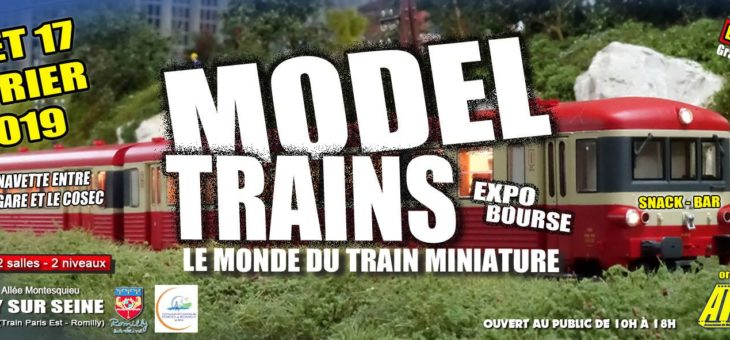 Participation du club au Model Trains 2019 / Romilly