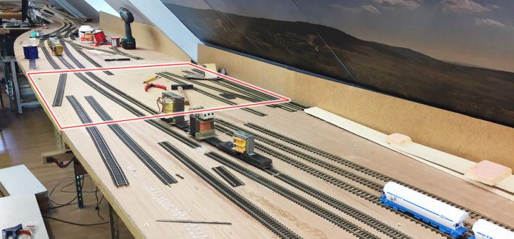Travaux d'agrandissement de la gare