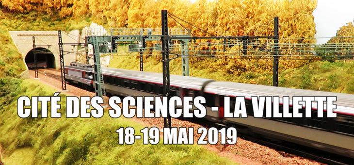 Modélisme ferroviaire à la cité des sciences et de l'industrie