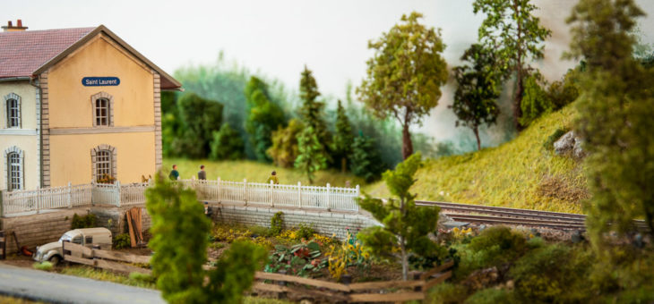 Salon du train miniature Dieppe, édition 2017