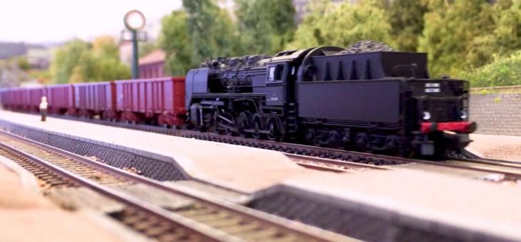 Coup d'envoi du salon du train miniature à Dieppe