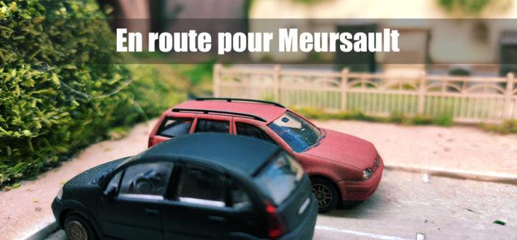 Préparatifs pour la fête du train à Meursault