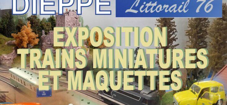 Annulé – Exposition de trains miniatures et maquettes à Dieppe (16-17 octobre)